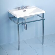 Lloyd Metal Console Bathroom Sink Set