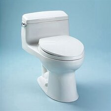 <strong>Toto</strong> Supreme® Eco 1.28 GPF Elongated 1 Piece Toilet with SoftClose Seat