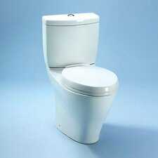<strong>Toto</strong> Aquia II Dual Flush 1.6 GPF / 0.9 GPF Elongated 2 Piece Toilet