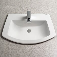 <strong>Toto</strong> Soirée ADA Compliant Self Rimming Bathroom Sink