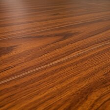 SAMPLE - 12 mm Narrow Board Laminate with Underlayment in Odessa Mahogany