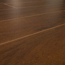 12mm Narrow Board Walnut Laminate in Caribbean