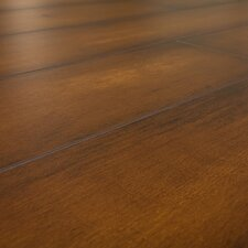SAMPLE - 12 mm Narrow Board Laminate with Underlayment in Virginia Walnut