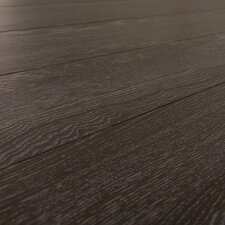 SAMPLE - 7 mm Narrow Board Laminate with Underlayment in Tropical Wenge