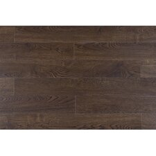 12mm Wire Brushed Hickory Laminate in Brown