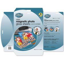"<strong>Magna Card Inc</strong> Magnetic Photo Sheets, 8-1/2""x11"", 5 Sheets/PK"