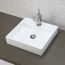 Classically Redefined Square Vessel Bathroom Sink