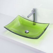 <strong>DecoLav</strong> Incandescence Rectangular Vessel Bathroom Sink