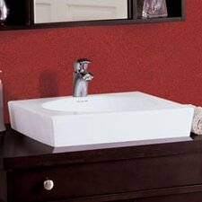 Classically Redefined Square Ceramic Vessel Sink