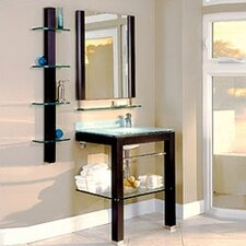 "<strong>DecoLav</strong> Bathroom Furniture 27.5"" Wall-Mounted Vanity Set"