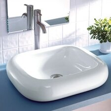 <strong>DecoLav</strong> Classically Redefined Rectangular Ceramic Vessel Bathroom Sink