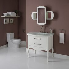 "Gabrielle 37"" Bathroom Vanity Set"