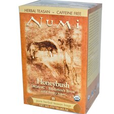 <strong>NUMI Organic Tea</strong> Honeybush Herbal Tea (18 Pack)