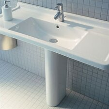 Starck 3 Pedestal Bathroom Sink
