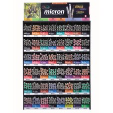 Micron Pigma Mega Dealer Pen Display