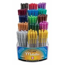 Gelly Roll Metallic Gel Pen Display (Set of 180)