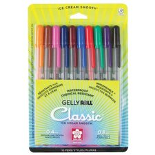 Gelly Roll Medium Point Assorted Gel Pen (Set of 10)