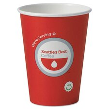 <strong>Seattle's Best Coffee Company</strong> Hot Cups (Pack of 1000)