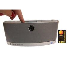 Wireless Speaker W/Bluetooth, 4 Watt, Silver
