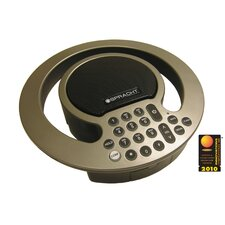 Conference Phone, W/Expandable Capability, Black/Silver
