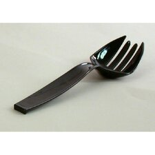 "9"" Plastic Forks in Black"