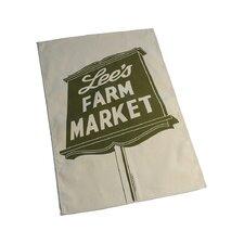 Lee's Farm Market Tea Towel