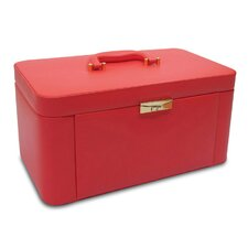 <strong>Morelle Company</strong> Alexis Leather Large Two Side Pullout Jewelry Box