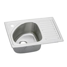 "<strong>Elkay</strong> Gourmet 21"" x 15"" Self-Rimming Kitchen Sink"