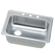 """Gourmet 25"""" x 21.25"""" Kitchen Sink with Off Center Drain Opening"""