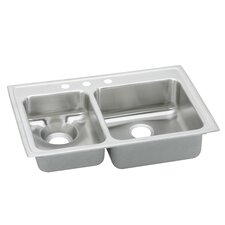 "Gourmet 33"" x 22"" x 6.13"" Kitchen Sink"