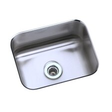 "Lustertone 13.5"" x 10.75"" Rectangular Undermount Kitchen Sink"