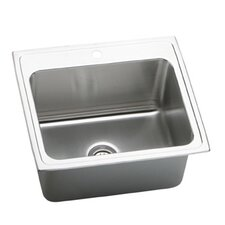 "Gourmet 25"" x 22"" x 10.13"" Top Mount Kitchen Sink"