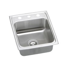 "<strong>Elkay</strong> Pacemaker 17"" x 20"" Single Bowl Kitchen Sink"
