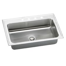 "Gourmet 33"" x 22"" x 7.63"" Kitchen Sink"