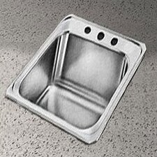 "Celebrity 17"" x 21.25"" Self-Rimming Kitchen Sink"