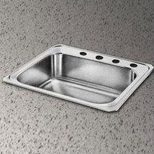 "<strong>Elkay</strong> Celebrity 25"" x 21.25"" 3 Hole Self-Rimming Kitchen Sink"