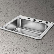 "Celebrity 33"" x 22"" Self-Rimming Kitchen Sink"