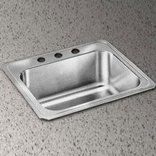"Celebrity 25"" x 22"" x 10"" Self-Rimming Kitchen Sink"