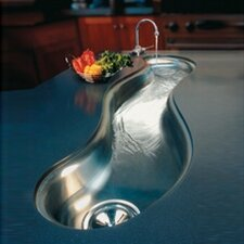 "Mystic 51"" x 13.94"" Undermount Single Bowl Kitchen Sink"