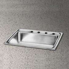 "Pacemaker 31"" x 22"" Single Bowl Kitchen Sink"