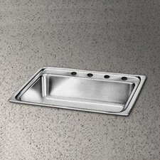 "Pacemaker 22"" x 19.5"" Single Bowl Kitchen Sink"