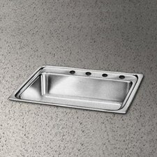 "Pacemaker 25"" x 21.25"" Single Bowl Kitchen Sink"