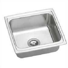"Lustertone 19"" x 18"" Gourmet Single Kitchen Sink"