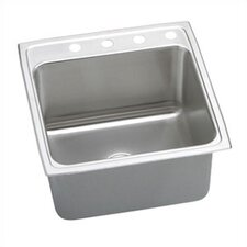 "22"" x 22"" Lustertone Gourmet Single Bowl Kitchen Sink"