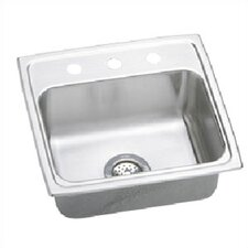 "Lustertone 19"" x 18"" Gourmet  Kitchen Sink"