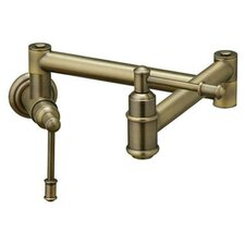 Oldare Two Handle Wall Mount Pot Filler Faucet