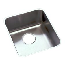 "Lustertone 15"" x 17.5"" Undermount Kitchen Sink"