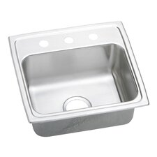 "Pacemaker 19"" x 18"" Gourmet Single Bowl Kitchen Sink"