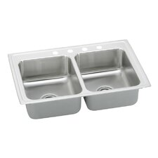 "Pacemaker 33"" x 21.25"" Gourmet Doubel Bowl Kitchen Sink"
