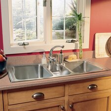 "Gourmet 43"" x 22"" Kitchen Sink"